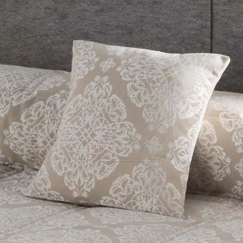 housse de coussin basilea beige 50x50 cm. Black Bedroom Furniture Sets. Home Design Ideas
