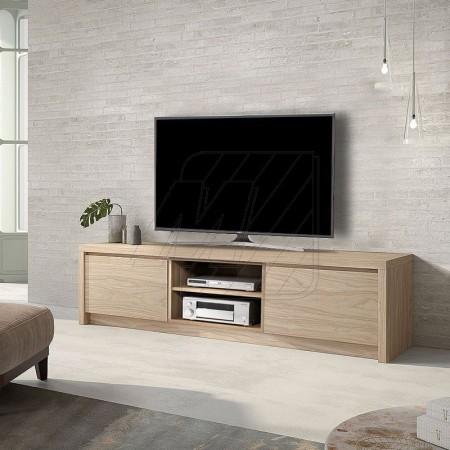Meuble tv moderne couleur noyer - Meuble tv couleur ...