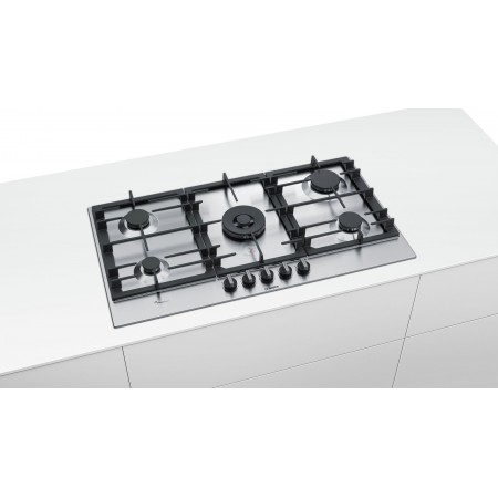 TABLE DE CUISSON BOSCH 90 CM INOX