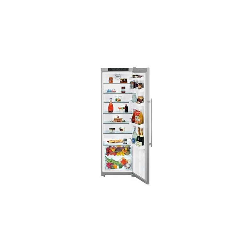 refrigerateur lebherr 1 porte inox. Black Bedroom Furniture Sets. Home Design Ideas