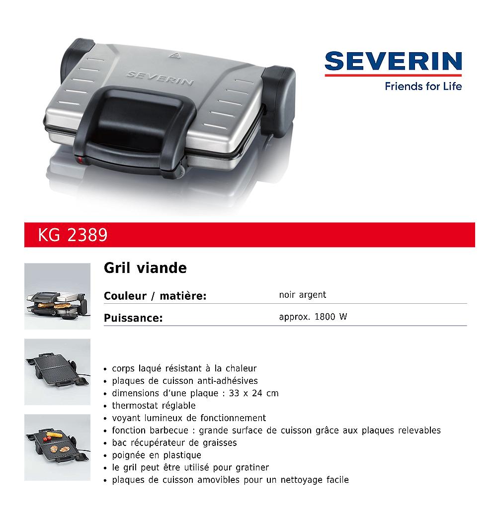 Grill viande KG2389